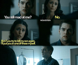 Melissa, teen wolf, and liam image