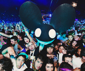 deadmau5, party, and awesome image