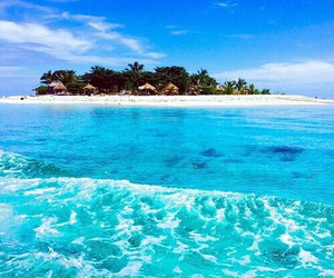 summer, beach, and Island image