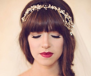 bangs, hairstyles, and hairstyles with braids image