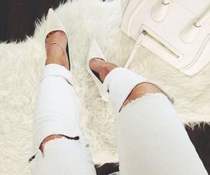 white, fashion, and bag image