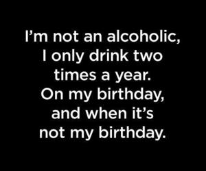 birthday, alcohol, and drink image