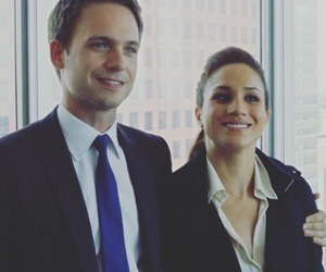 mike, suits, and rachel image
