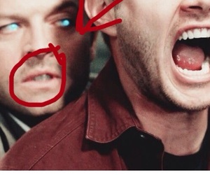 angel, dean, and demon image