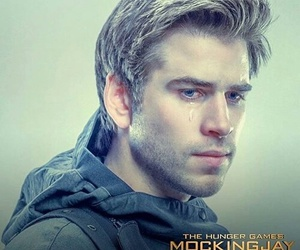 mockingjay, the hunger games, and liam hemsworth image