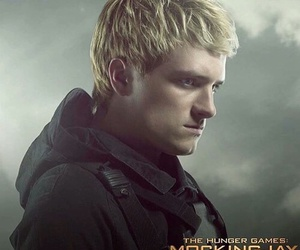 the hunger games, mockingjay, and peeta mellark image
