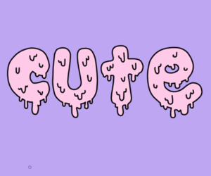 cute, pink, and purple image