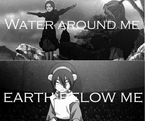 toph, aang, and zuko image