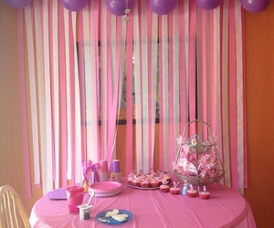 balloons, crepe paper, and diy image