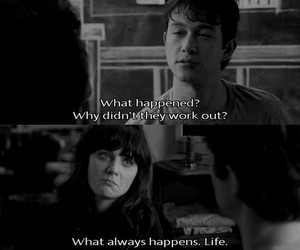 500 Days of Summer, life, and movie image