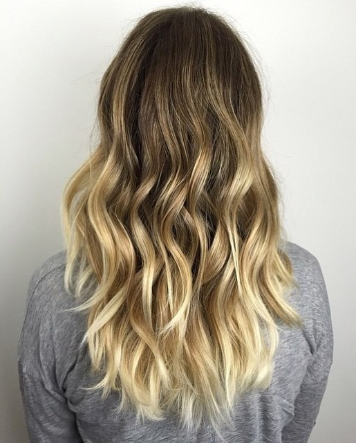 golden,blonde,balayage,for,dark,brown,hair uploaded by ANNA