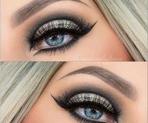 eyes, make up, and beauty image