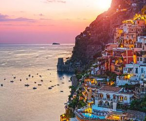 italy, city, and sea image