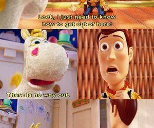 disney, funny, and toy story image