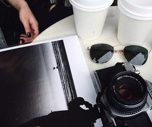 coffee, black, and camera image