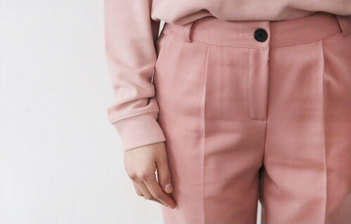 pink, aesthetic, and pants image