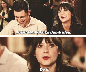 funny, new girl, and friends image
