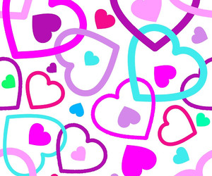 art, girly, and hearts image