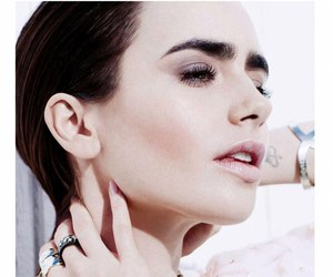 lily collins, beautiful, and model image