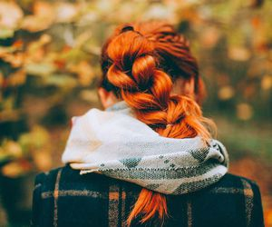 alternative, orange hair, and dyed hair image