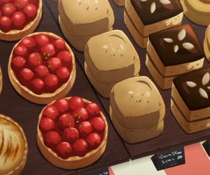anime food image