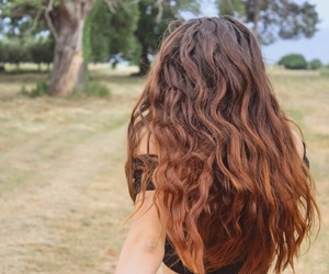 curls, ginger, and hair image