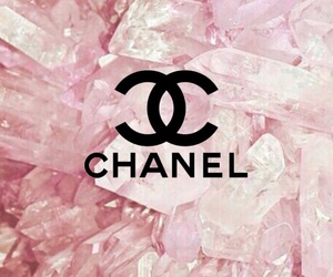 background, pink, and chanel image