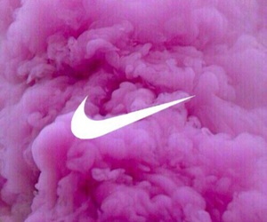 wallpaper, pink, and nike image