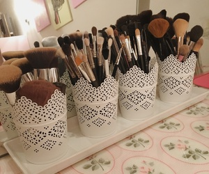Brushes, beauty, and make-up image