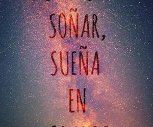 dreams, frase en español, and frase image