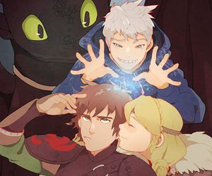 hiccstrid and astrid and hiccup image