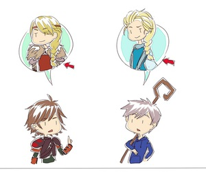 dreamworks, jack frost, and hiccup image