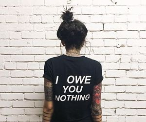 girl, tattoo, and fashion image