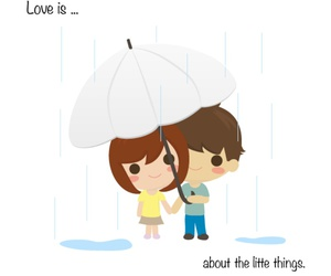 rain, Relationship, and cute image