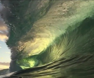 ocean, wave, and sea image