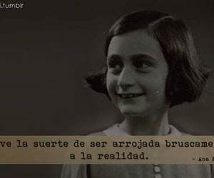 reality, frases, and ana frank image