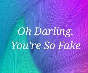 colourful, darling, and fake image