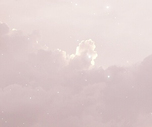 clouds, stars, and nature image