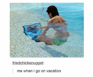 funny, vacation, and true image