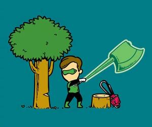 funny, job, and superhero image