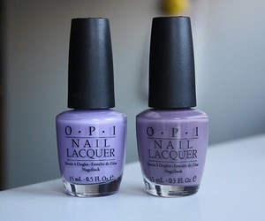 purple, nail polish, and nails image
