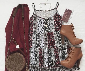 outfit, cute, and cardigan image