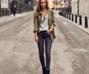 blogger, brunette, and fashion image