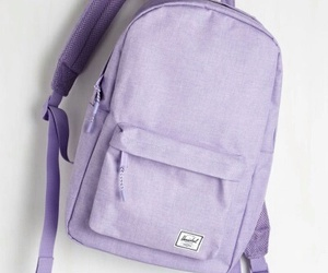 aesthetic, purple, and bag image