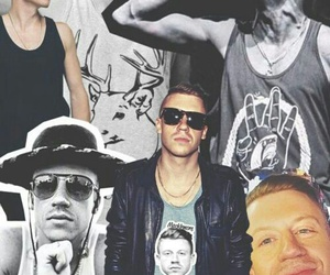 macklemore, Collage, and ben haggerty image