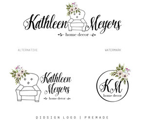 etsy, watermark, and premade logo image