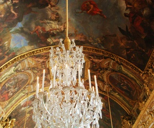 architecture, white, and palace versailles image