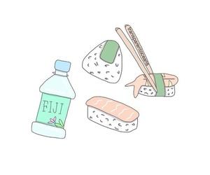 overlay, fiji, and food image
