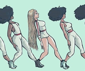 beyoncé, formation, and art image