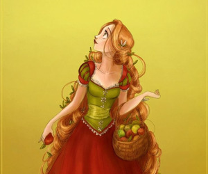rapunzel, disney, and disney princess image